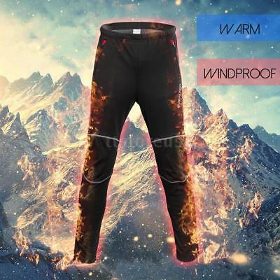 0de92545696083 Men's Bike Cycling Riding Pants Trousers Windproof Winter Thermal Fleece BB  X8U8