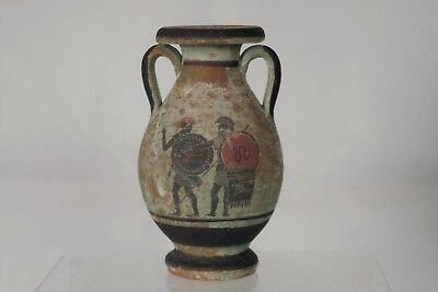 Fantastic Greek/Roman/Cypriot Handpainted Amphora Vase