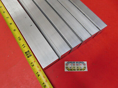 "6 Pieces 1"" X 1-1/2"" ALUMINUM 6061 RECTANGLE BAR 14"" long T6511 SOLID Mill Stock"