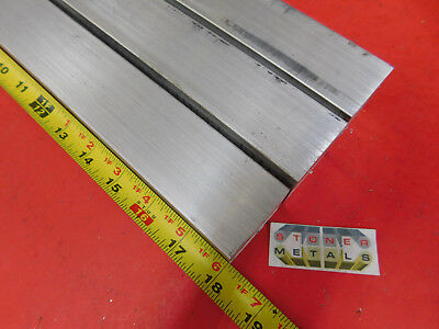 "3 Pieces 1-1/2"" X 1-1/2"" ALUMINUM SQUARE 6061 T6511 SOLID EXTRUDED BAR 18"" long"
