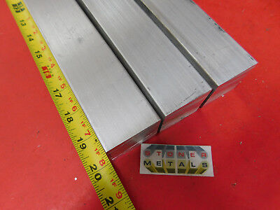 "3 Pieces 1-1/2"" X 1-1/2"" ALUMINUM SQUARE 6061 T6511 SOLID EXTRUDED BAR 20"" long"