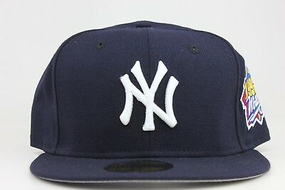 New York Yankees Navy 1999 World Series Patch MLB New Era 59Fifty Fitted Hat Cap
