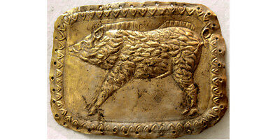 PCW-AN365-ROMAN EMPIRE. Ca. 1st. Century AD. Gold Plaque. Extremely Rare.
