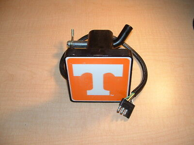 "Hitch Logo Sports Light University of Tennessee Hitch Cover 2"" Trailer UT Vols"