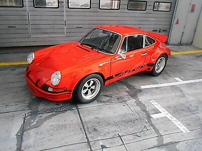 PORSCHE 911 Carrera RSR 2.8 Breitbau orange 1974 Resin GT Spirit RAR 1:18