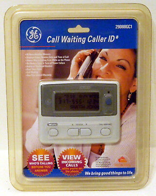 GE Call Waiting Caller ID 29088GC1 - 80 Name/Number - New / Sealed