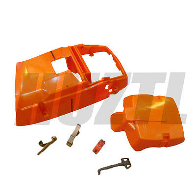 Cylinder Air Filter Cover On Off Switch For Husqvarna 362 365 Chainsaw New