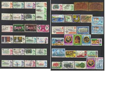 (709) Bahamas Used Collection Incl Sets, Ms & Mnh