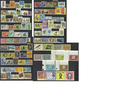 (736) Ghana 1957-1988 Mh & Used Collection Cat £30+