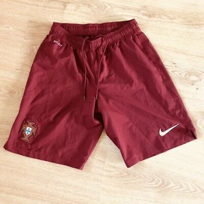Vtg Portugal Nike Football Soccer Shorts Small S Rare.