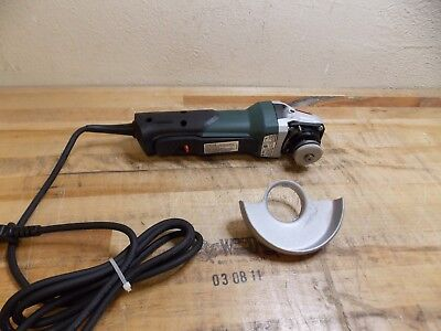 """Metabo Electric Angle/Disc Grinder 4-1/2"""" Wheel Dia. 10500 RPM #WP9-115QUICK"""