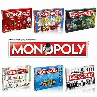 Monopoly Entertainment Editions – The Classic Family Board Game - New for 2018!