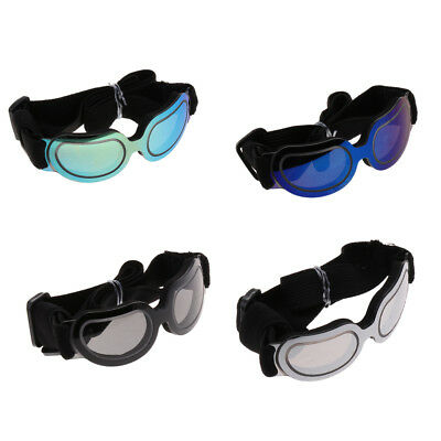 Dog Sunglasses Pets Goggles UV Protection Eyes Wear with Adjustable Strap