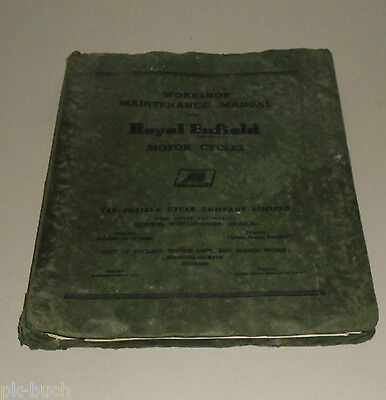 Workshop Manual Royal Enfield 350/500 Bullet/Trail/Clipper Stand 1961