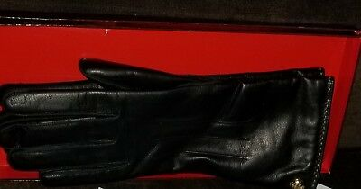 Coach Woman Leather Gloves
