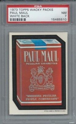 Wacky Packages Series 1 Paul Maul Psa 7 Nm