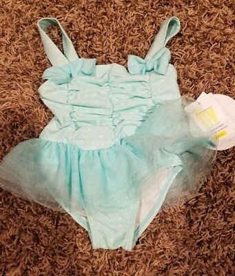 0e450801a38bc NEW BABY GIRL Bathing Suit- One Piece Girls Swimsuit- 3-6 Months ...