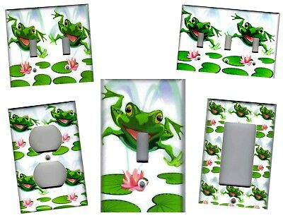 FROG ON LILY Pad Frogs Home Wall Decor Light Switch Plates And ...
