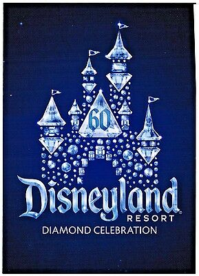 Disneyland Resort - 60th Anniversary - Diamond Celebration Postcard