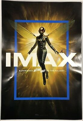 """IMAX Marvel Ant Man And The Wasp Movie Poster 13""""x19"""""""