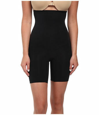 New SPANX HIGHER POWER HI-WAIST NO SLIP SHORTS SHAPER #409 Black Size A B C D E