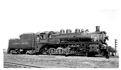LL648 RP 1959/90s? CP CANADIAN PACIFIC RAILROAD ENGINE #5762 MOOSE JAW SK