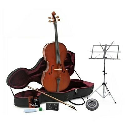 Student Plus Full Size Size Cello with Case + Beginner Pack
