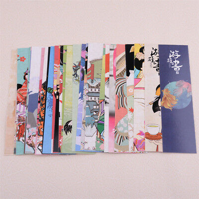30pcs Cute Vintage Paper Bookmark Japanese Style Book Marks For Kid supplies