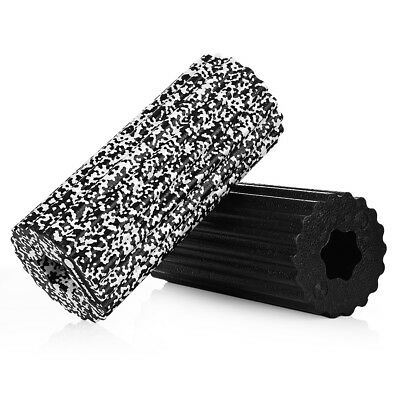 High Density EPP Yoga Pilates Foam Roller Hollow Waist Muscle Feet Massage Gym