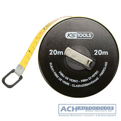 Ks Tools 300.0041 Capsule Tape Measure M.Kunstoffband, 20m