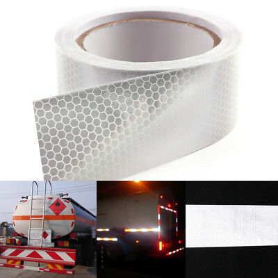 10M Car Truck Reflective Safety Warning Conspicuity Roll Tape Film Sticker Decal