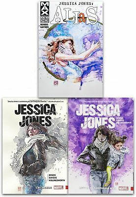 Jessica Jones Collection 3 Books Set Pack Return of the Purple Man, Alias NEW