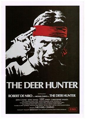 Robert DeNiro The Deer Hunter 1978 Movie Classic  Print Advertisement