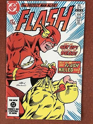 The Flash 324! VF/NM Death Of Reverse Flash!