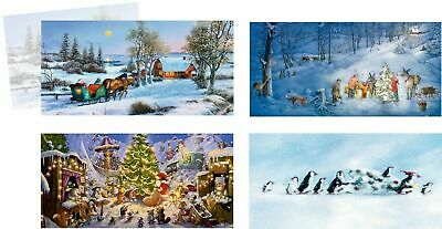 Happy Christmas Time Cards advent calendar cards traditional german design
