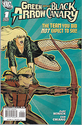 Green Arrow And Black Canary #1 2007 Dc Winick // Chiang