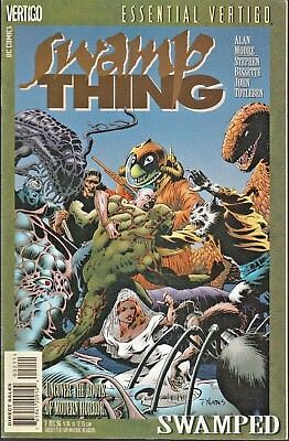 ESSENTIAL VERTIGO: SWAMP THING  #2 1996 DC B&W YEATES-c/ ALAN MOORE...VF/VF-