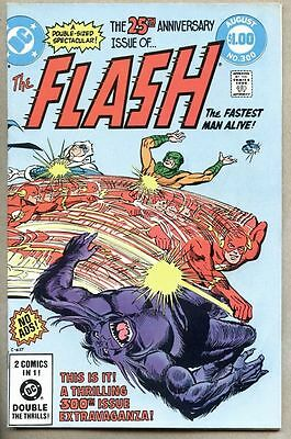 Flash #300-1981 fn+ Captain Cold Grodd Trickster Reverse Flash Giant Size