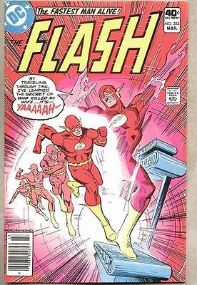 Flash #283-1980 fn+ Cary Bates Don Heck Reverse Flash reveals how he killed Iris