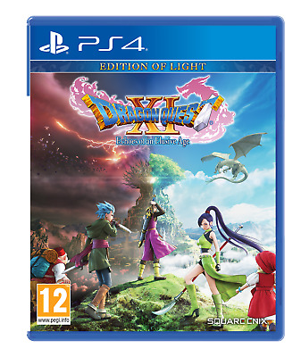 Dragon Quest XI Echoes Of An Elusive Age Edition Of Light PS4 Game