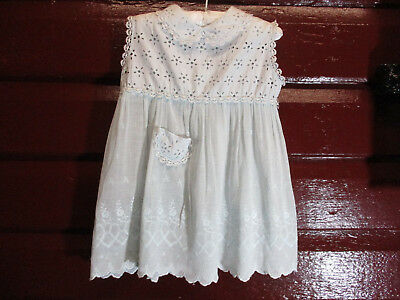 1960s little girls cotton dress - hand made vintage 2 year old frock