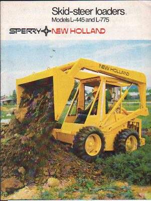 New Holland 200 Series Skid Steer And Compact Track Loader