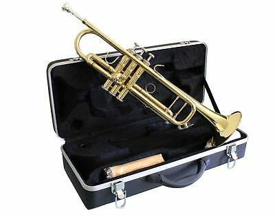 High Quality Venus  TRUMPET Bb Gold Lacquer Finish + CASE MOUTHPIECE