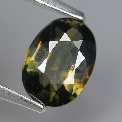 cute 1.38 Ct Natural Unheated Greenish Yellow KORNERUPINE Oval Gem @ See Vide !!