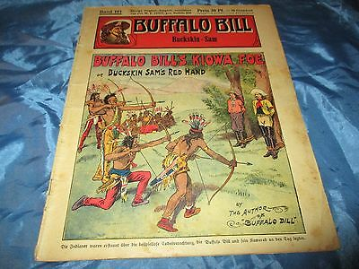 BUFFALO  BILL , Held des Wilden Westens , Band 101 , Romanheft 1932 / 1933
