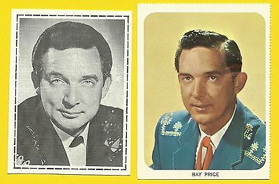 Ray Price Fab Card Collection American country music singer Release Me Crazy Arm
