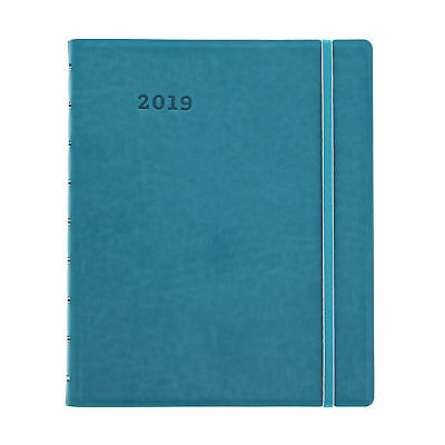 Filofax 2019 Monthly Planners Aqua 9.25 x 7.25 17 Month August through December