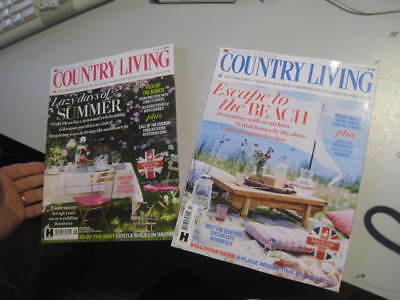 2 new issues COUNTRY LIVING British edition June and July 2018 issues