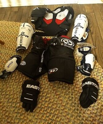 EASTON STEALTH YOUTH Hockey Pads youth set size small med