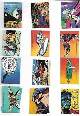 1987 Marvel Stickers History of the X-Men Series 2 singles